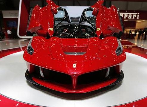 LaFerrari o carro híbrido da Ferrari